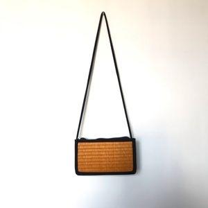 VINTAGE Straw Shoulder Handbag made in Cambodia